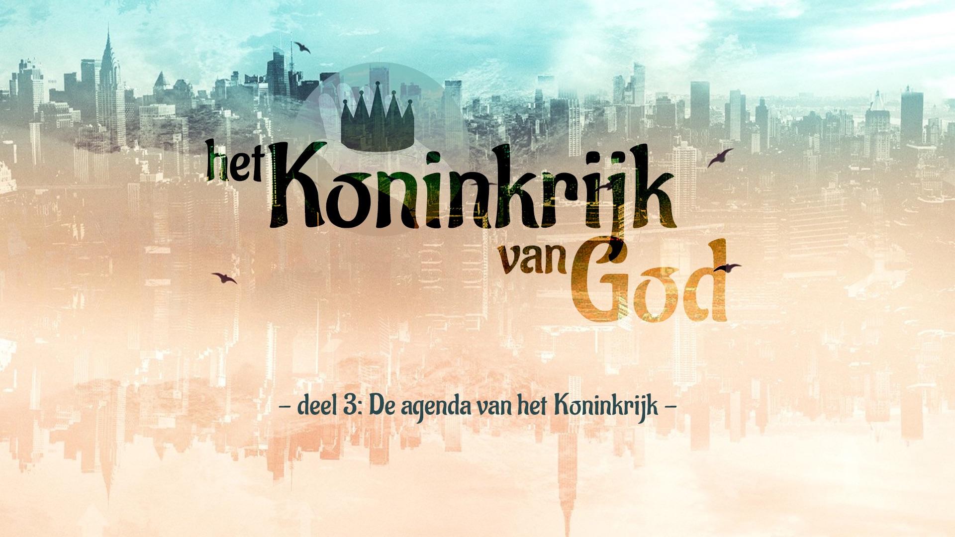 Extra materiaal 'Koninkrijk van God' - deel 3