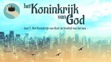 Het Koninkrijk van God: de bruiloft van het lam
